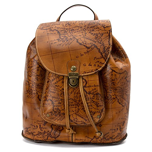 Patricia Nash Women's Casape Backpack, Signature Map, One Size