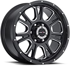 Vision 399 Fury Gloss Black Milled Spokes Wheel with Milled Finish (20x10