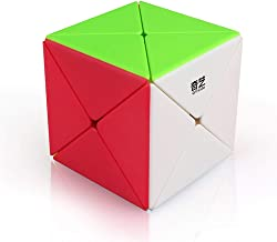 OUYAWEI Rubik Toy 3 X 3 Kids Magic Cube Puzzle Toy for Kindergarten Color