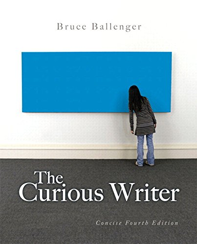 Curious Writer: Concise Edition, The, Plus MyWritingLab -- Access Card Package (4th Edition)