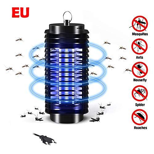 Lixada Lampe Anti-Moustiques Physical Plug in Mini LED Trappe électronique (Prise 220V-EU)