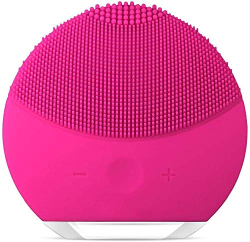 Silicone Facial Cleanser,Rosarden Facial Cleansing Brush Sonic Electric...