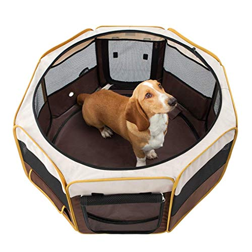 YASE-king Mascota cerrado Carpa Carpa cubierta del gato de entrega perro de habitaciones múltiples funciones plegable Casa del animal doméstico Producción Juego de exterior mascota Valla tienda portab