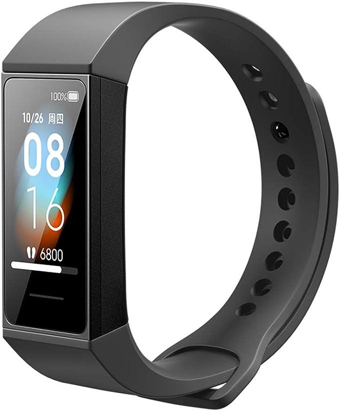 "Xiaomi Mi Band 4C Smart Activity Tracker Monitor Deportivo con HR Monitor Dinámico Pantalla a Color de 1.8"" Pantalla Grande 50M Impermeable Negro Versión Global"