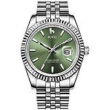 Best BUREI Automatic Watches - BUREI Men Automatic Self-Wind Watches Business Dress Waist Review