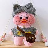 LONG-X 30cm Kleine Gelbe Ente Plüschtier Puppe Ducks Lala Fanfan Ducks Plüsch weichen Spielzeug...