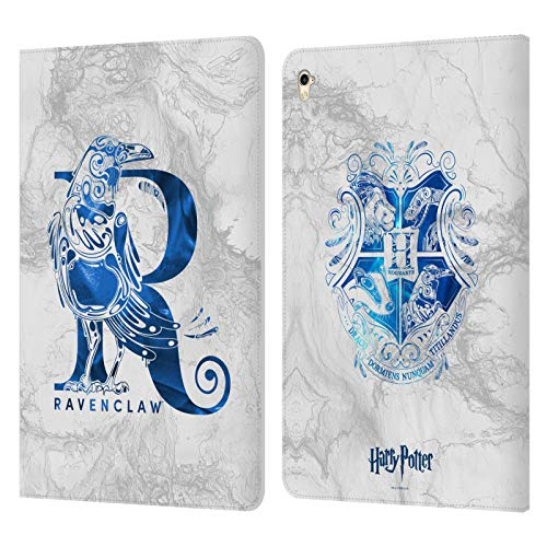 Official Harry Potter Ravenclaw Aguamenti Deathly Hallows IX Leather Book Wallet Case Cover Compatible For Apple iPad Pro 9.7 (2016)