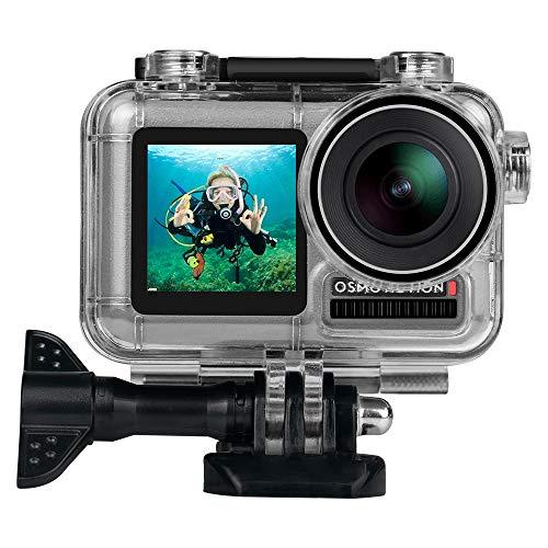 Eyeon Carcasa Impermeable Buceo Estuche Protectora Carcasa Agua para la Cámara de Acción DJI OSMO ACTIONFotografía y Vídeo Subacuático