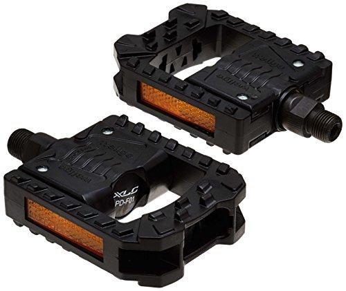 XLC, Pedale pieghevole PD-F01 Unisex-Adult, schwarz, One Size