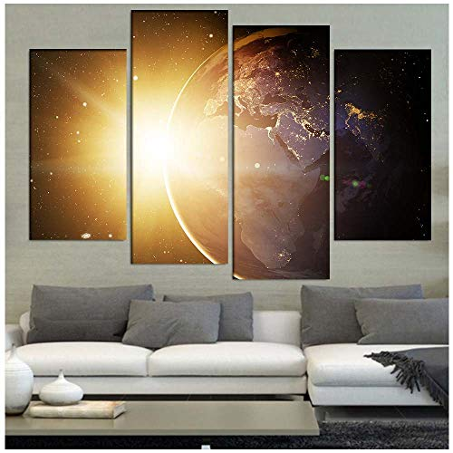 (5 stuks) Woonkamer Slaapkamer Canvas Schilderij, HD Inkjet Huisdecoratie Schilderij