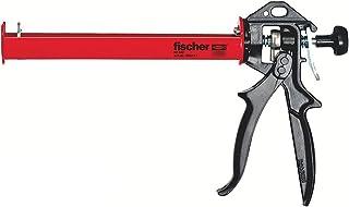 Fischer 053117 Pistola silicona KPM2, Negro, Rojo