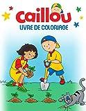 Caillou Livre De Coloriage: Meilleur livre de coloriage pour les enfants