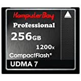 KOMPUTERBAY 256GB Professional COMPACT FLASH CARD CF 1200X WRITE 140MB/s READ 180MB/s Extreme Speed UDMA 7 RAW 256 GB by KOMPUTERBAY [並行輸入品]