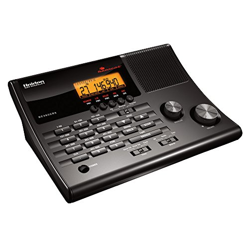 Our #6 Pick is the Uniden BC365CRS Tabletop Radio