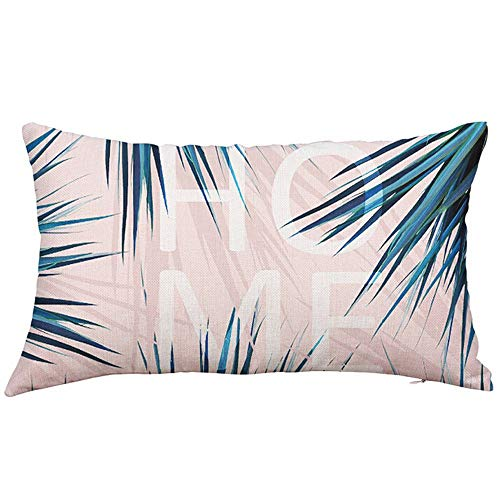 ZHFZD eenvoudige en stijlvolle kussens, rechthoekige zijden kussens, kussens, superzachte stoffen kussenslopen ZHFZD 30cm*50cm A