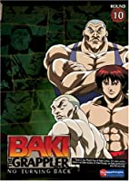 Baki the Grappler 10: No Turning Back [DVD] [Import]