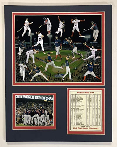 Carl Yastrzemski Boston Red Sox MLB Double Matted 8x10 Photograph Legends Collage