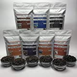 7 Bags – Espresso Blends – Combo Bean Box – Roasted To Order Espresso Coffee – Order Today/We Roast Today – Choose Roast Level (Light /Blonde /Medium /Med-Dark /Dark /Italian) (Whole Bean/Ground)