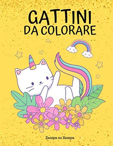 Gattini da colorare: Libro da colorare per bambini con tanti dolci gattini da colorare