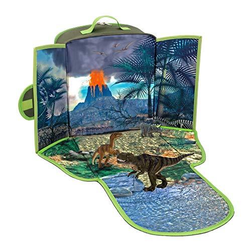 Go Playscape Dinosaurier-Rucksack mit 3 Dinosaurier-Figuren