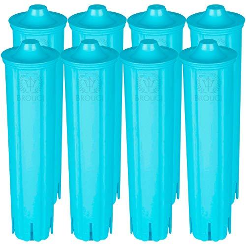 8 x Wasserfilter für JURA CLARIS BLUE Filterpatrone Impressa Ena Micro Giga 5 geeignet für Jura Kaffeevollautomaten Kaffeemaschinen Espressomaschinen 8er Pack