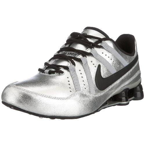 Nike Shox Beule 316092-002, Herren Trainingsschuh / Freizeitschuh, metallic-silbern/schwarz, 44 EU / 9.5 UK
