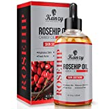 Pure Rosehip Oil for Hair Body and Nail, Aroma-Therapy Message Oil Cold Pressed