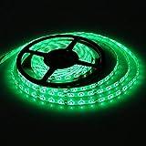 SUSAY Waterproof Green LED 3528 SMD 300LED 5M Light Flexible Strip 12V 2A 24W 60LED/M