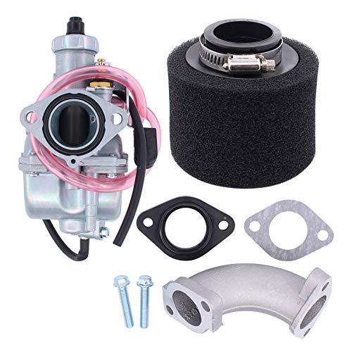 HouYeen Carburador de 26 mm para Mikuni Vm22 110Cc 125Cc 140Cc Pit Dirt Bike Carb con tubo de admisión y filtro de aire