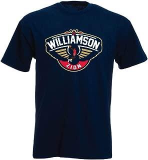Shedd Shirts Navy New Orleans Logo Zion T-Shirt