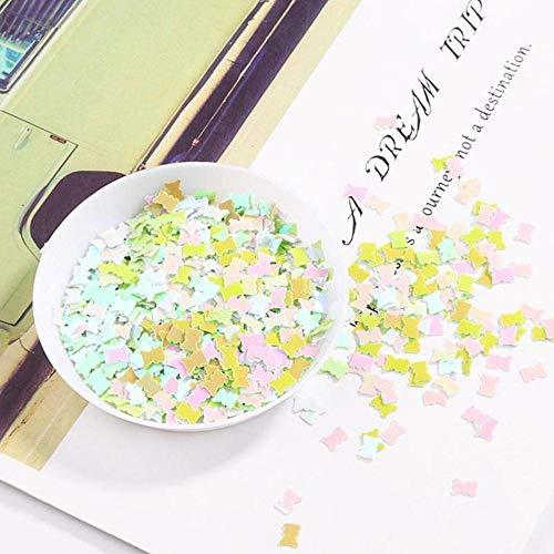3 * 5mm beer PVC pailletten nagel patch knipperende kleurrijke kralen bruiloft gooien confetti DIY handgemaakte materialen, 11
