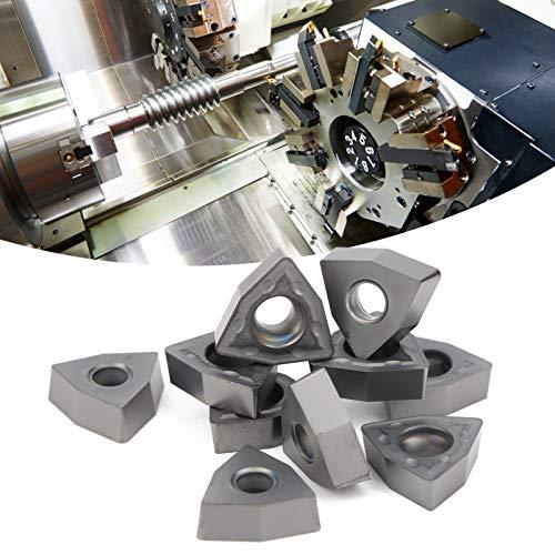 Inserto CNC Inserto CNC, con inserto de torneado de carburo sólido de alta dureza, con alta calidad duradera para máquina CNC para acabado de acero