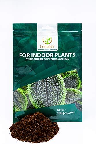 Hortulani Fertilizzante Piante da Interno - Fertilizzante Universale, Naturale, Organico, microbiologico per Coltivare Le Piante più Belle al Coperto