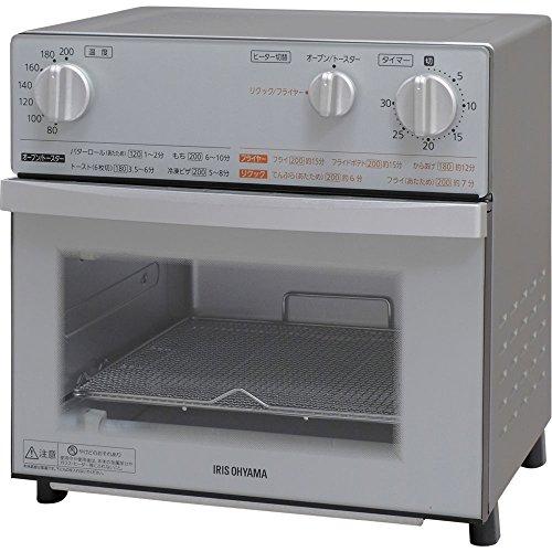 アイリスオーヤマ『ノンフライ熱風オーブン(FVX-D3B-B)
