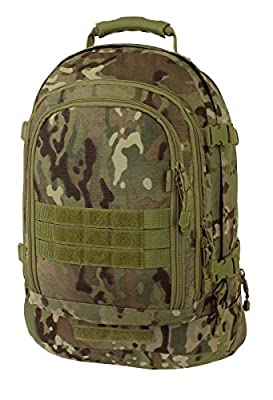 Mercury Tactical Gear Code Alpha 3 Day Stretch Tactical Backpack, Multicam, One Size