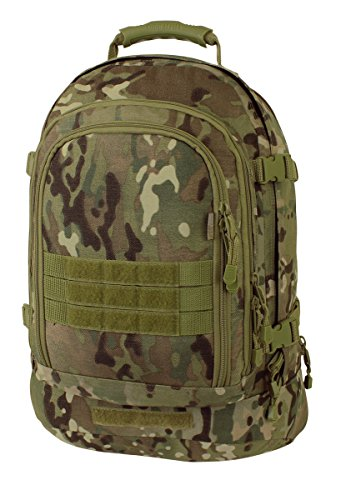 Mercury Tactical Gear Code Alpha 3 Day Stretch Tactical Backpack, Multicam