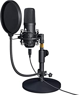 میکروفون USB USB 192KHZ / 24BIT MAONO AU-A04T PC Condenser Podcast Streaming Cardioid Mic Plug & Play for Computer، YouTube، ضبط بازی