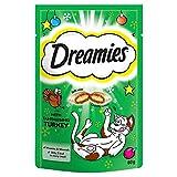 Dreamies Katzensnack mit Pute 6er Pack (6 x 60g)
