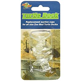 Zoomed Island Turtle Dock Suction Cups, 4-Piece
