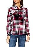 Wrangler Slim Regular Western Camisa, Azul Oscuro, XL para Mujer