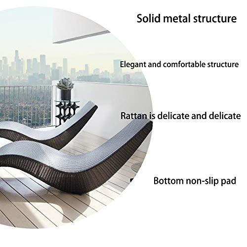 ZTBXQ Leisure FurnitureGarden furniture Outdoor Indoor Wicker Rattan, for Patio Pool Deck Home
