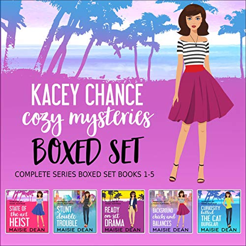 Kacey Chance Cozy Mysteries cover art