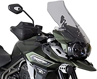 Powerbronze 420-T112-001 flip/tall screen to fit Triumph Tiger 1200 Explorer, Tiger 1200 Explorer XC and Tiger 1200 Explorer XRX 16/Light tint