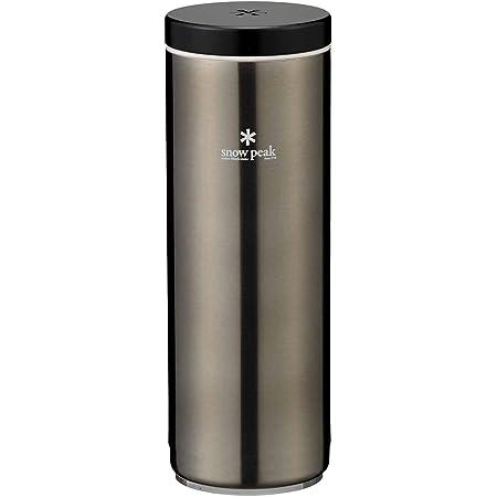 スノーピーク システムボトル500 ダークシルバー (TW-071R-DS) 水筒 snow peak [並行輸入品]