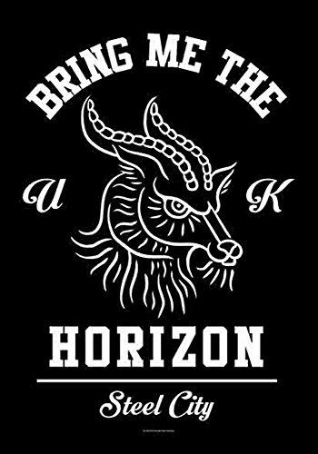 Bring Me The Horizon - Goat - Poster Drapeau 100% Polyester - 75 x 110 cm