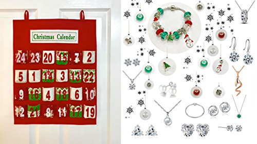 Luxury 25 piece Advent Calendar with Swarovski