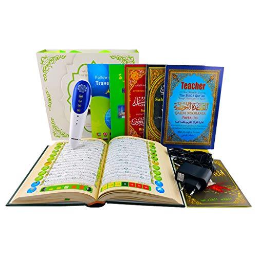 Digital Quran Pen Reader, Wort für Wort Funktion, Quranlesefeder 18 Reciters und 22 Sprache Übersetzungen - islamisches Geschenk,8G