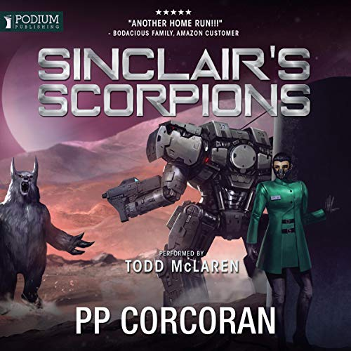 Sinclair's Scorpions audiobook cover art