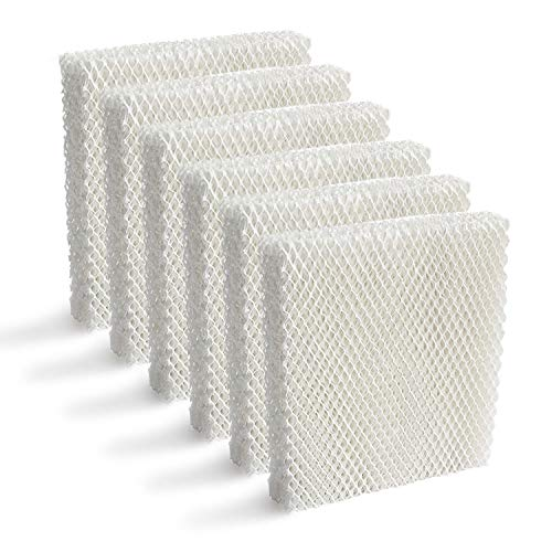 Lemige 6 Pack Humidifier Wicking HFT600 Filters T Compatible with Honeywell Tower Humidifier HEV615 HEV620, Compare to Part HFT600T HFT600PDQ