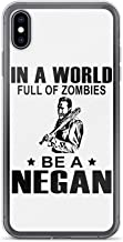 in A World Full of Zombies Be A Negan Anti-Scratch Clear Case iPhone 6 Plus/6s Plus